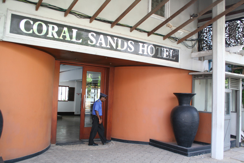 Back home to the Coral Sands Hotel.  Lots of renovation is still underway thanks to the tsunami of 2004.