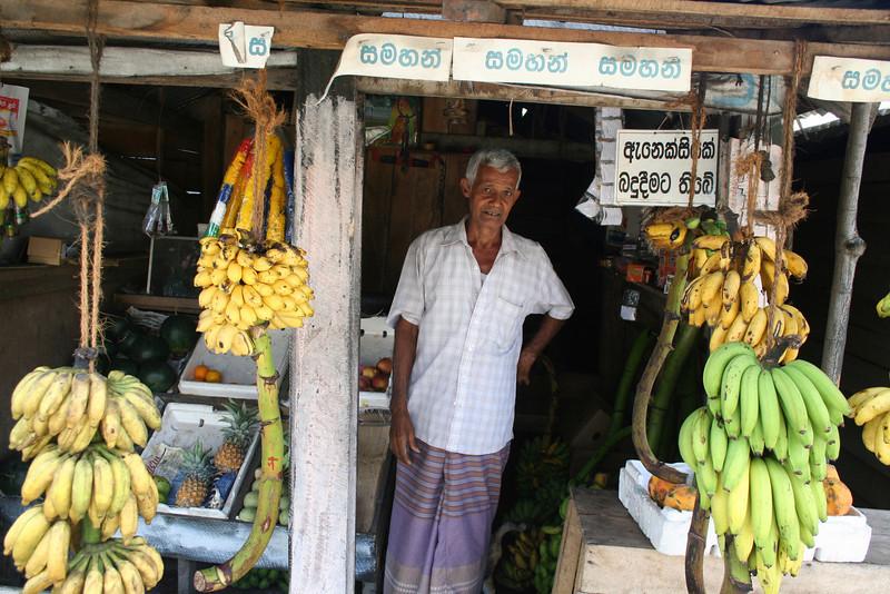 The fresh fruit was amazing.  Baby bananas, papaya, mangoes, you name it!