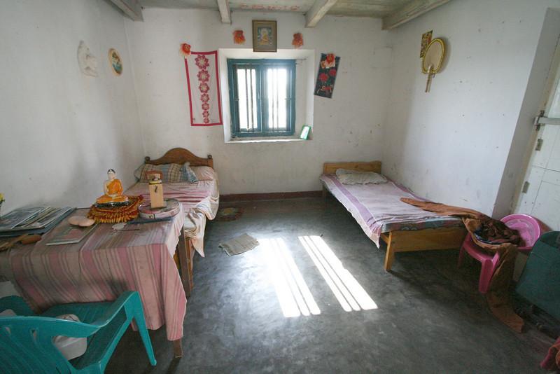 Monk's quarters.