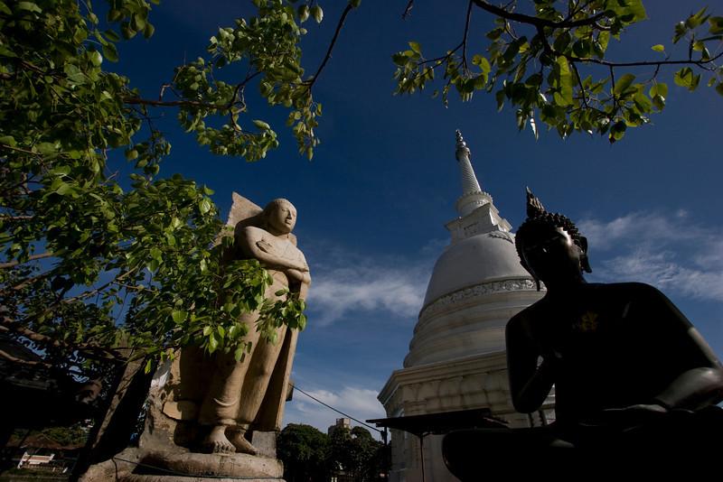 Seema Malakaya Buddhist temple in Colombo