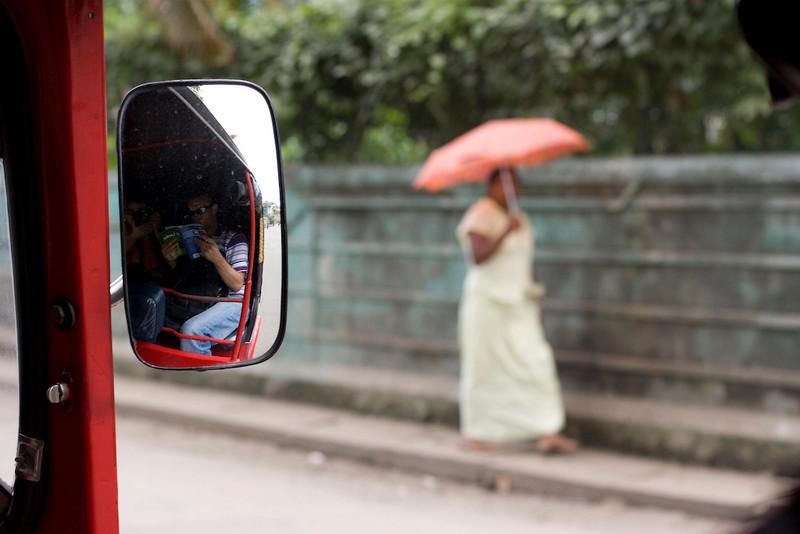 Rickshawing back to town