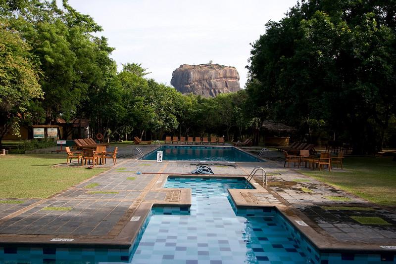 Our hotel in Sigiriya