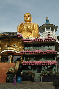 Golden Temple & Caves at Dambulla, Sri Lanka, July 2004