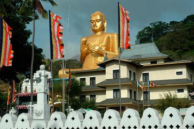 Golden Buddha Temple, Dambulla, Sri Lanka, July 2004