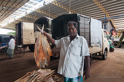 Dried fish