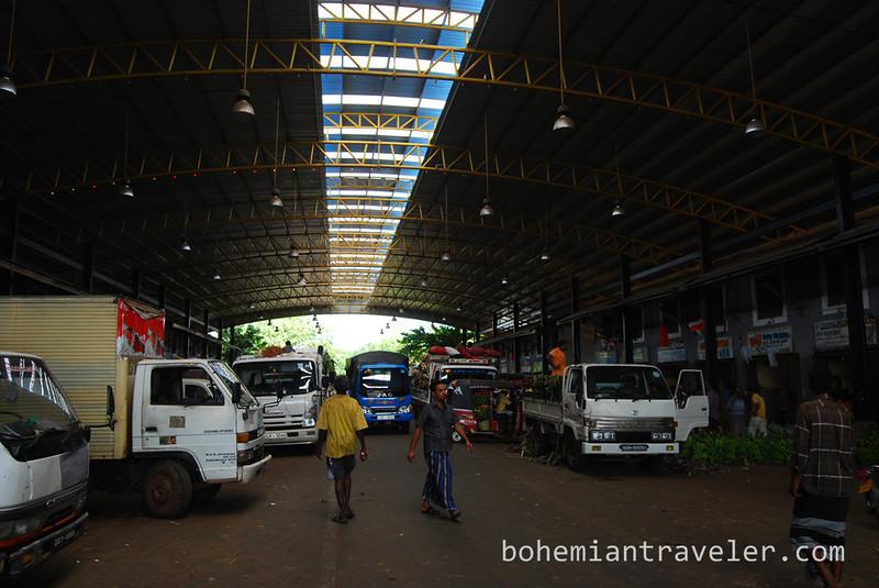 The Dambulla wholesale market in Sri Lanka.