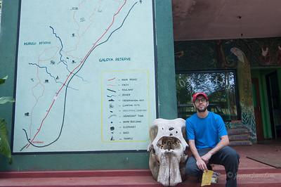 Stephen at Hurulu Eco Park