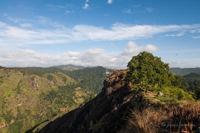 Hiking to Little Adam's Peak