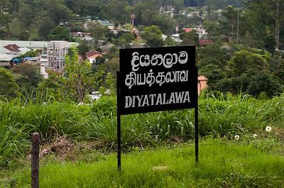 Diyatalawa Station