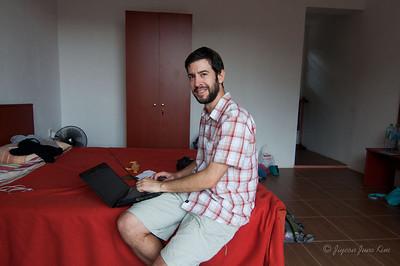 Stephen working at Ella