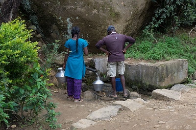 For some, this spring is their only source of fresh water.