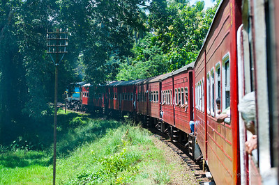 Train ride to Anjanapura