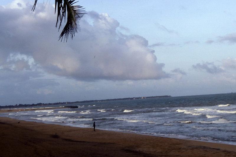 Beach at Negombo.