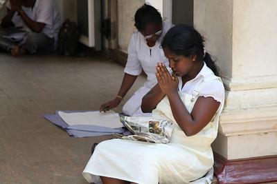 Praying - Anuradhapura