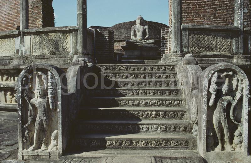 Vatadage, Polonnaruwa, Sri Lanka.
