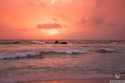 Mount Lavinia Beach - Colombo : Sri lanka