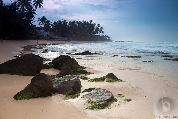 Early morning at Unawatuna Beach : Sri lanka