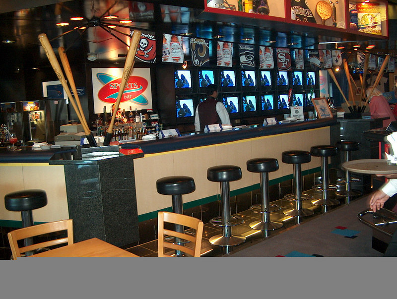 The Sports Illustrated Cafe on International Deck