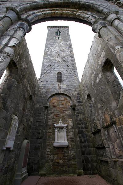 Vista interior de St Rule Church.