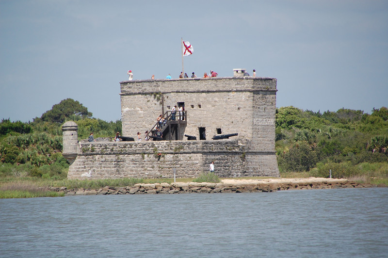 Fort Matanzas (smaller fort)