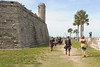 Castillo de San Marcos - changing of the guard