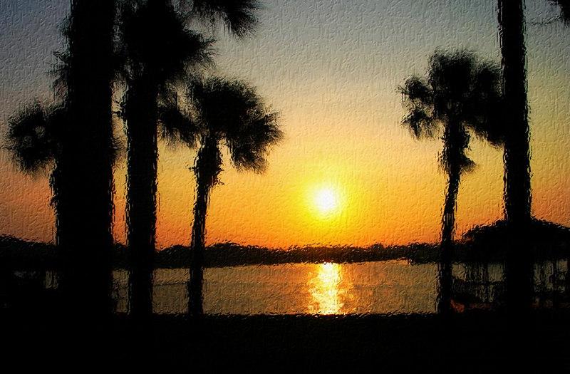 Sunrise on Lambert Avenue, Flagler Beach