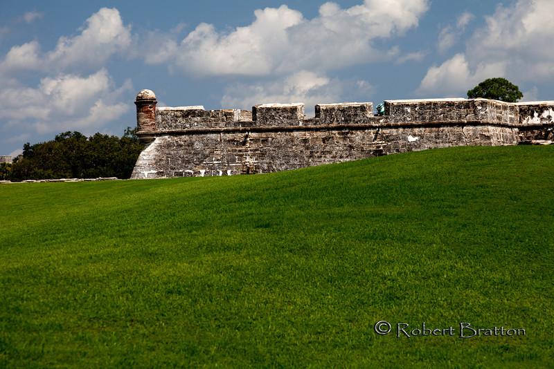 Castillo de San Marcos on the Green