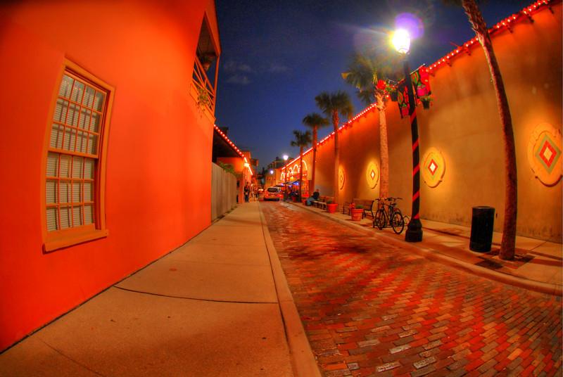 St. Augustine, FL  03 December 2011