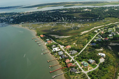 1753 St Augustine from the air
