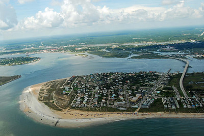 716 St Augustine from the air