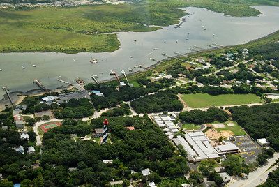 733 St Augustine from the air