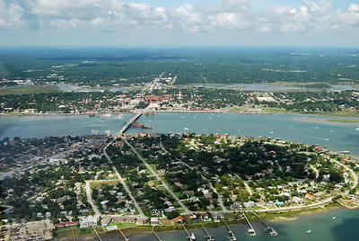 717 St Augustine from the air