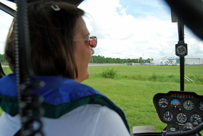 703 Lisa in helicopter front seat
