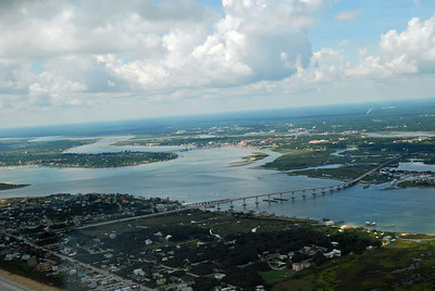 712 St Augustine from the air