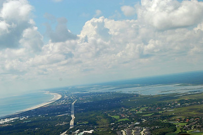 743 St Augustine from the air
