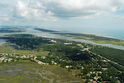 752 St Augustine from the air