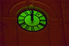 •Night Lights in St Augustine<br /> • Close-up of the clock on the Cathedral Basilica of St. Augustine