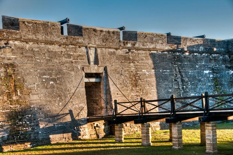 Castillo de San Marcos National Monument - HDR