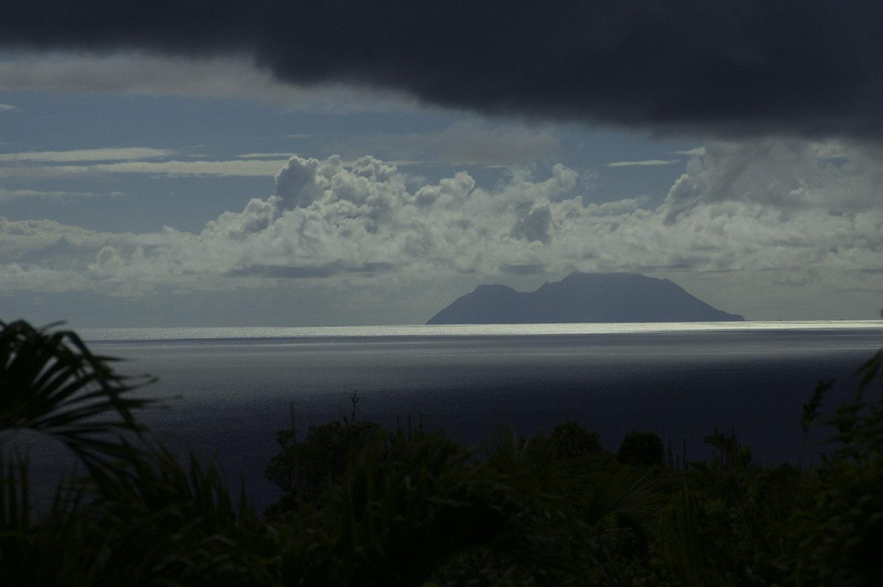 Another view of Saba from Ker Roch Glaz.