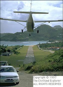 Okay, so this is a landing not a take off. Note the road beneath the plane.