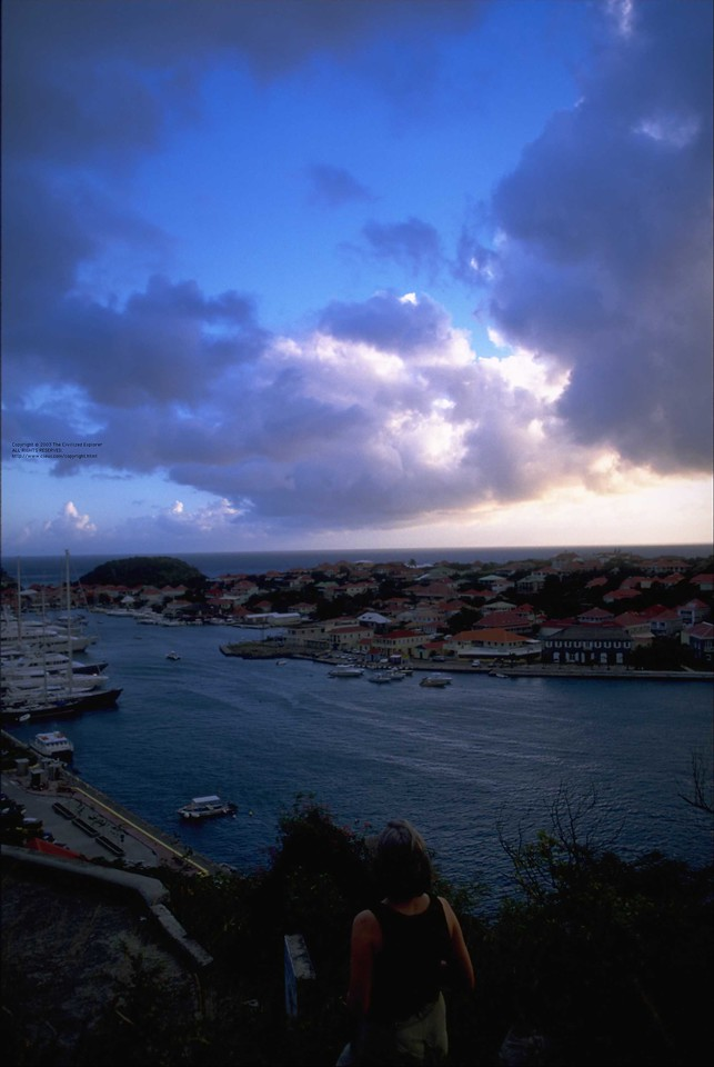 Sunset Gustavia
