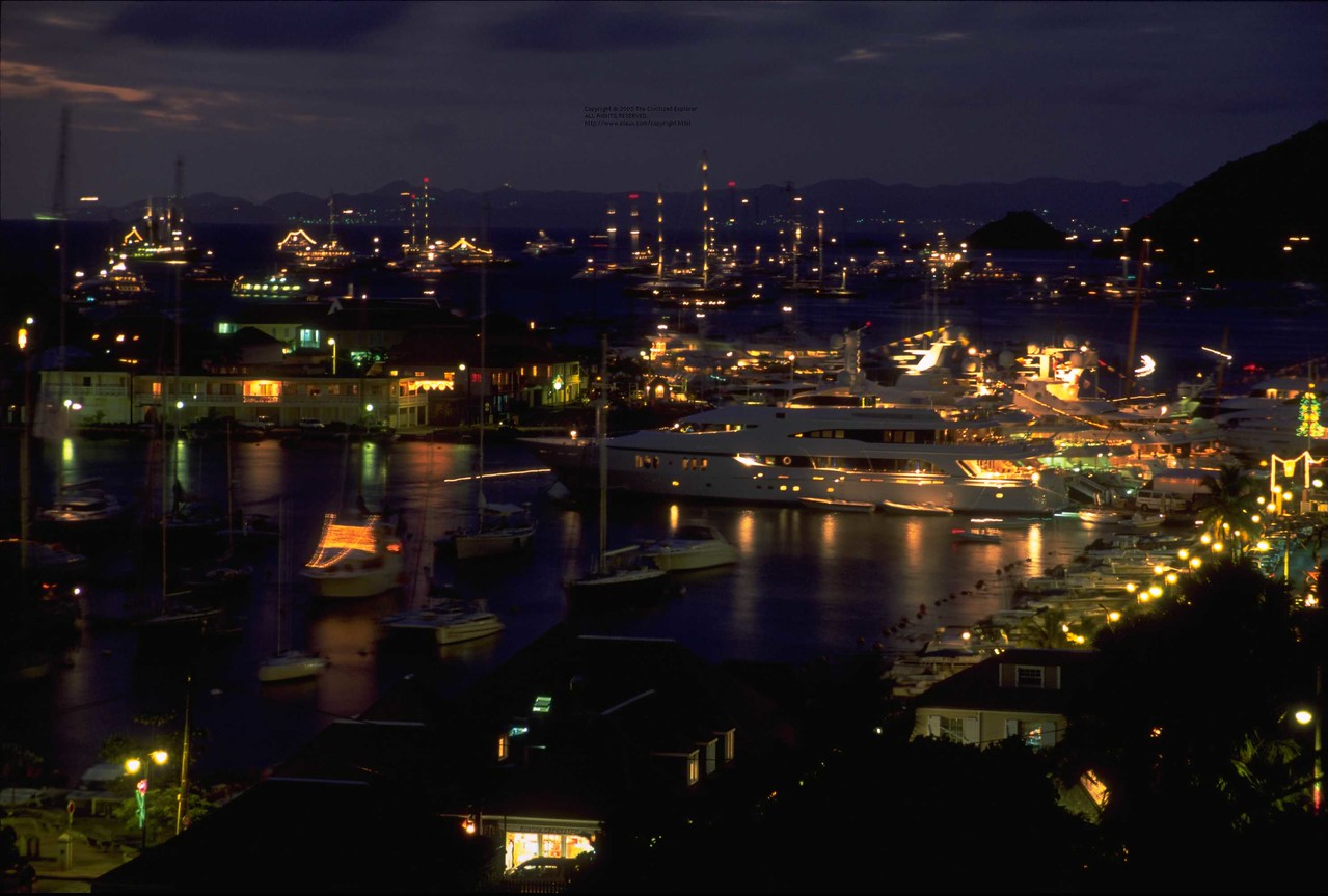 Evening in Gustavia