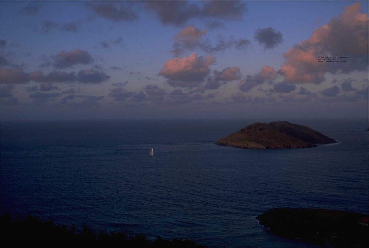Sunrise, Le Petite Anse.