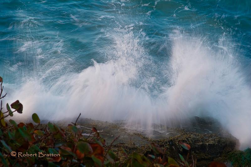 Wispy Waves on the Beach