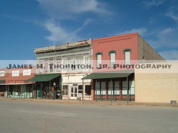 Downtown St. Jo, Texas