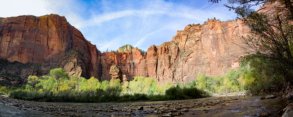 Panorama of the canyons. It's an incredible 360 degree view.
