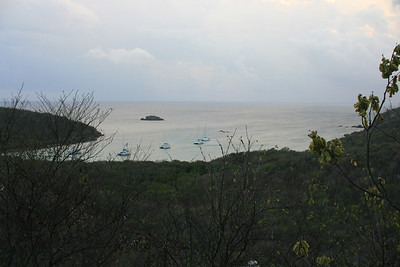 View from our Concordia Eco resort studio.