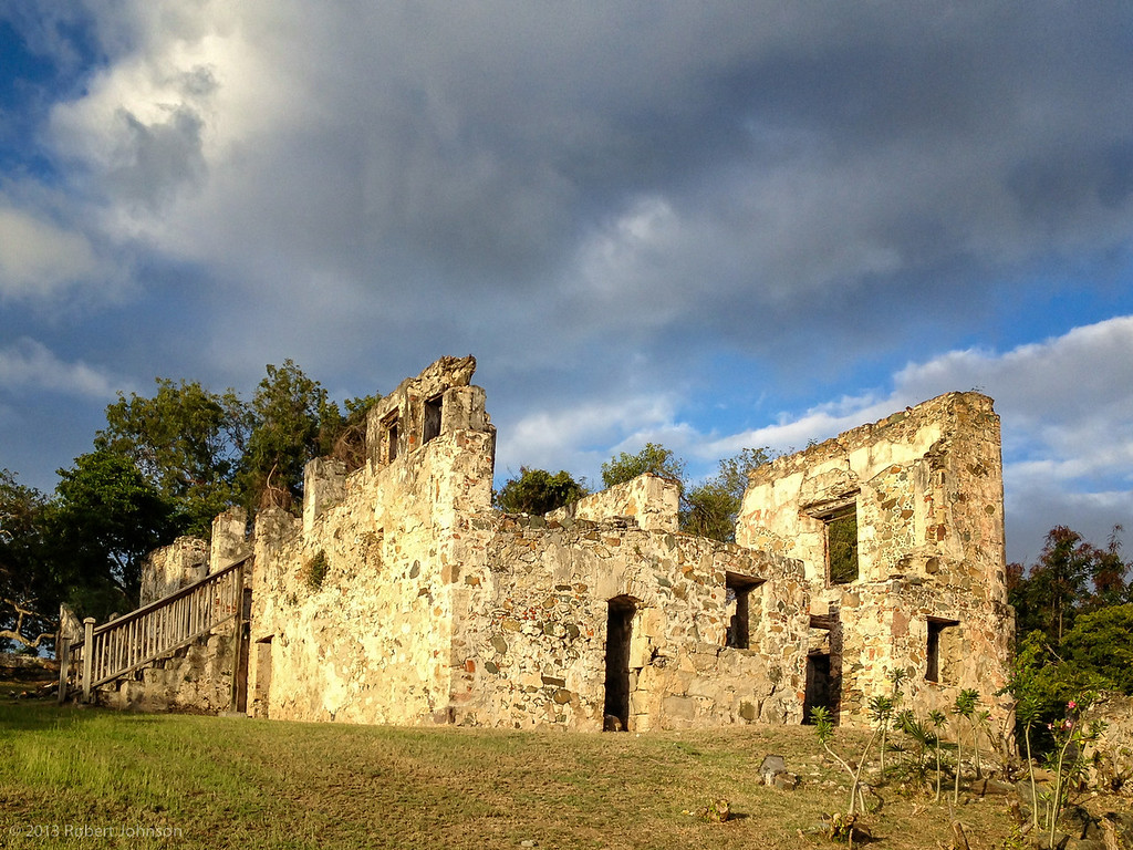 Plantation ruin at Caneel Bay
