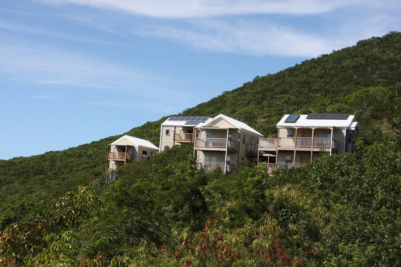 Concordia preserve tents... note solar panels