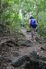 Pat hiking goat trail